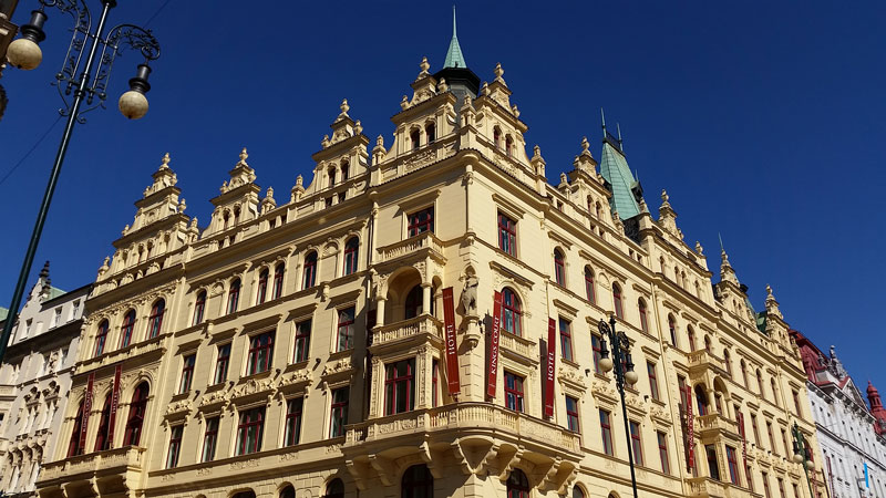 Kings Court Hotel, Republic Square, Prague