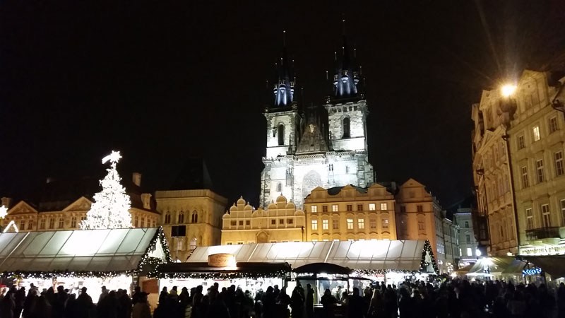 the old town square christmas market
