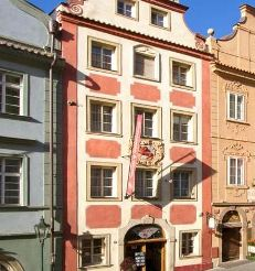 external view of the red lion prague hotel