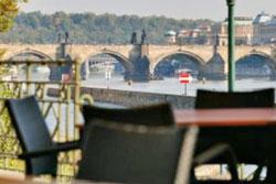 prague kalina kampa view to charles bridge