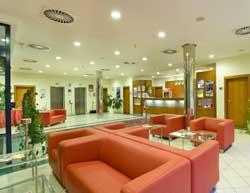 reception at the prague airport hotel ramada