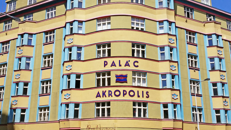 the art deco palace akropolis in prague's third district