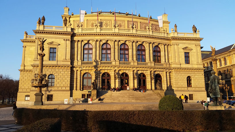 Rudolfinum Prague, home of the Czech Philharmonic Orchestra