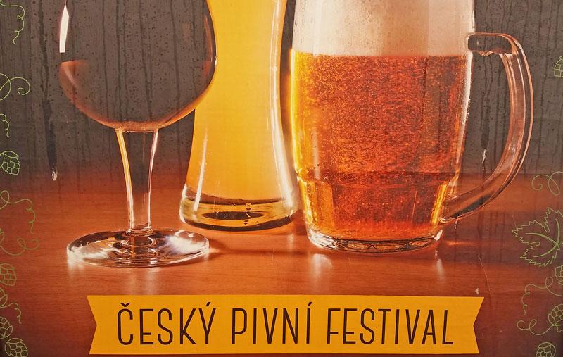 Prague beer festival poster