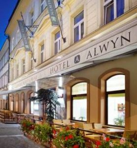 street view of hotel alwyn in prague