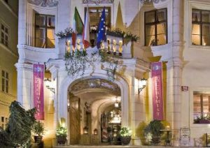street view entry to the alchymist grand hotel and spa in prague