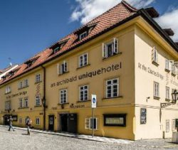 street view of the hotel archibald at the charles bridge
