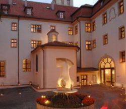 prague mala strana hotels, augustine courtyard of st thomas monastery