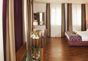 prague galileo hotel bedroom