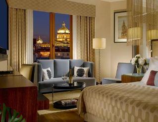 elegant bedroom at the prague radisson blu hotel in prague