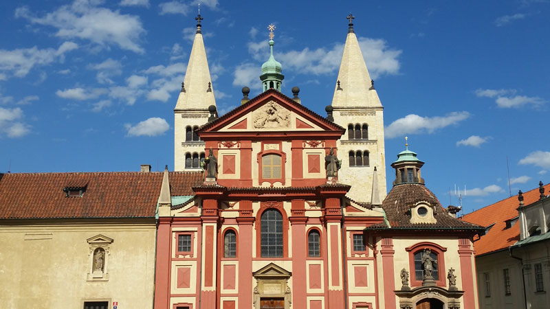 Saint george basilica, prague castle