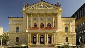 prague state opera facade