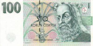 czech 100 korun note