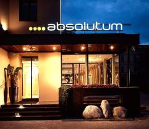 view of the entry to hotel absolutum in prague
