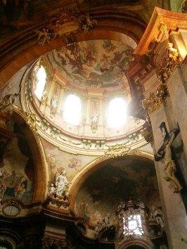 st nicholas church interior lesser town prague