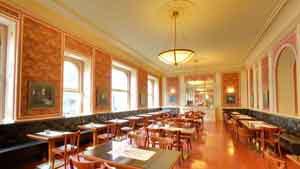 cafe louvre prague cafe interior