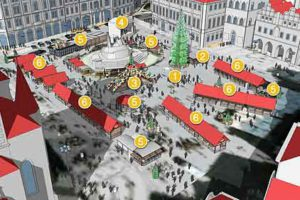 prague old town square christmas market layout