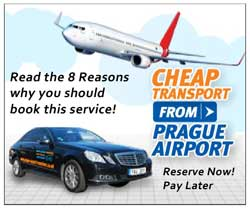 recommended prague airport transfer graphic
