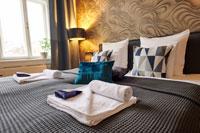 prague airbnb bedroom detail