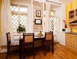 prague siesta apartments interior parket floor
