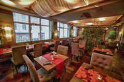 first floor interior, prague thai restaurants, modry zub spalena