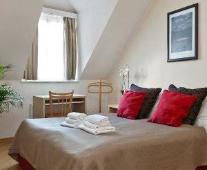 prague apartments truhlarska attic bedroom