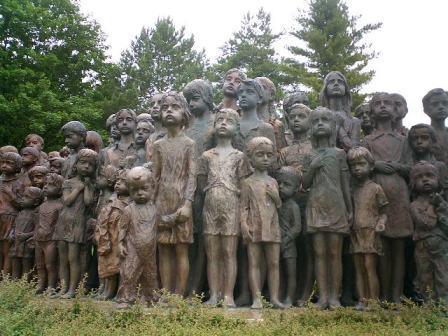 Children of Lidice memorial