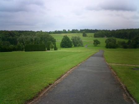 prague lidice memorial path