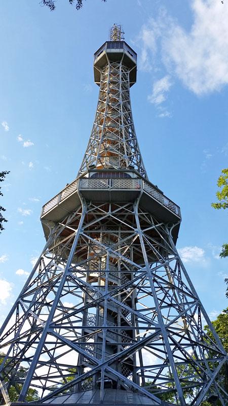 Prague little eiffel tower