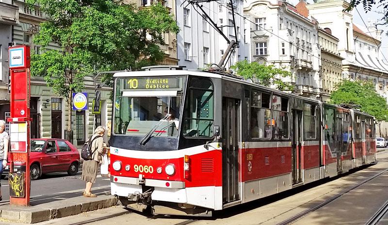 prague tram number 10