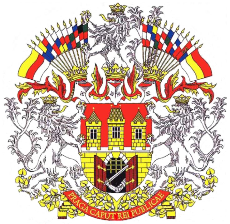 prague coat of arms 1993