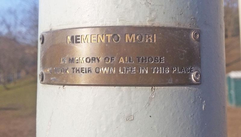 the memento mori prague 2 memorial plaque