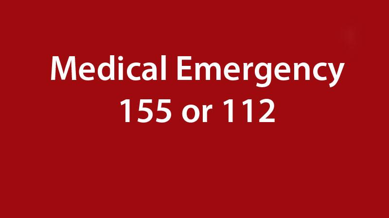 medical emergency telephone numbers in prague