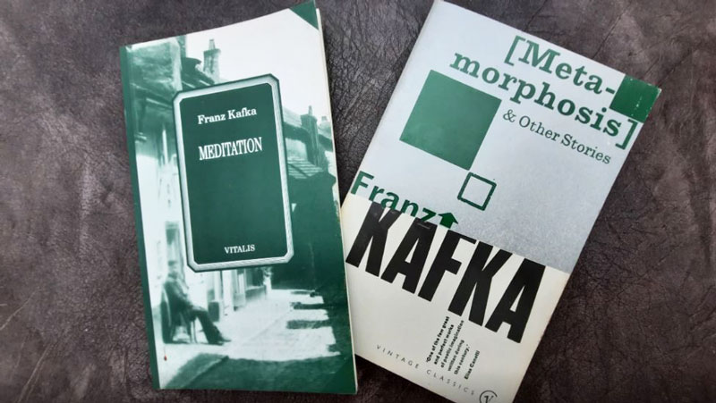 two franz kafka short story paperbacks