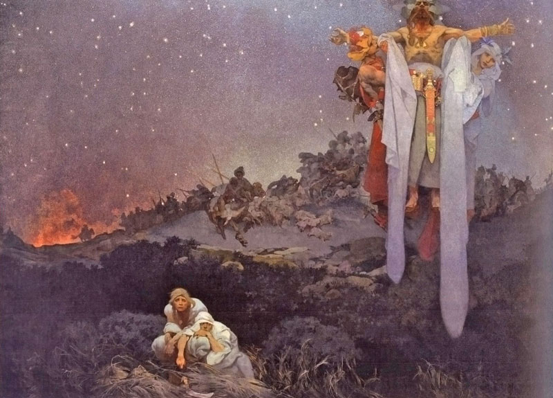 Slav Epic The Slavs in Their Original Homeland, Between the Turanian Knut and the Gothic Sword