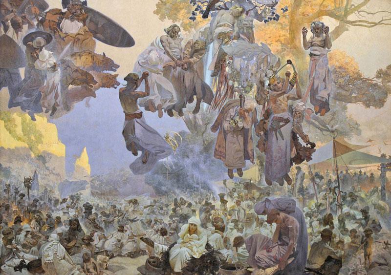 Slav epic The Celebration of Svantovit, When Gods Are At War