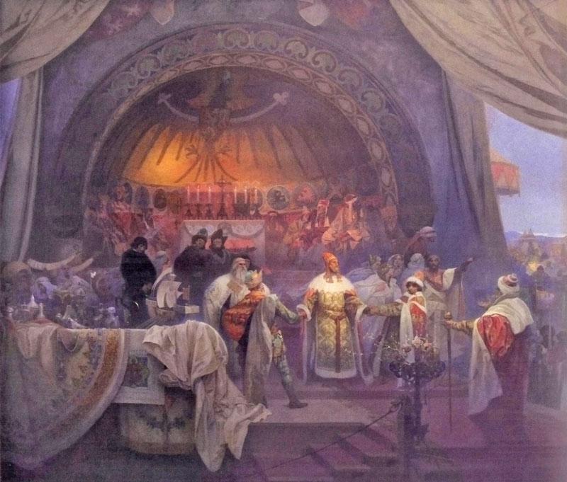 Slav epic King Premysl Otakar II of Bohemia, King of Iron and Gold, Union of Slavic Dynasties