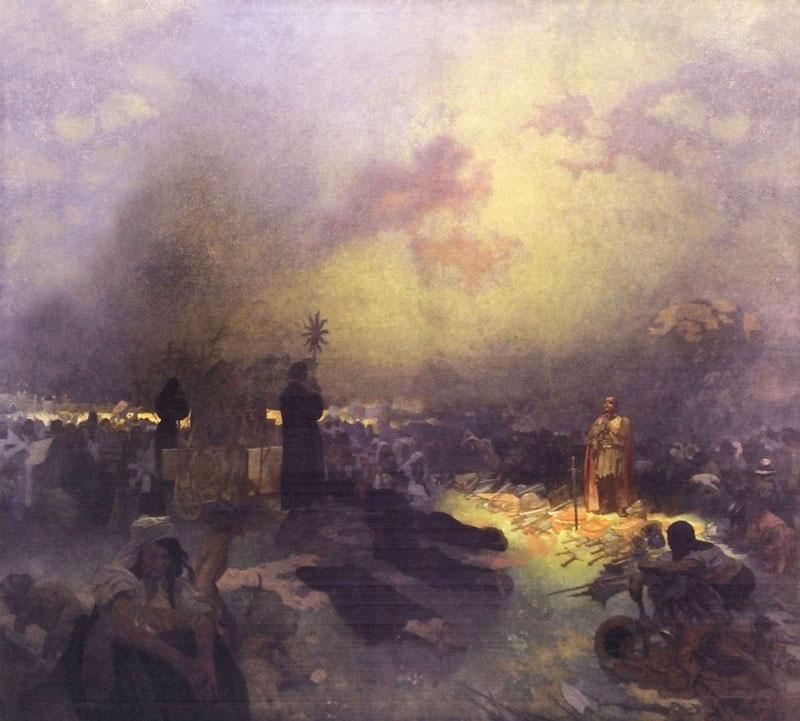 Slav Epic After the Battle of Vitkov, We Praise God to You