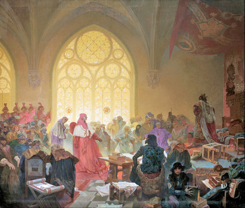 Slav Epic The Hussite King Goerge of Podebrad, King of Both People