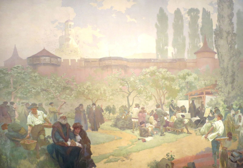 Slav Epic Fraternal School in Ivancice, Printing of the Kralice Bible