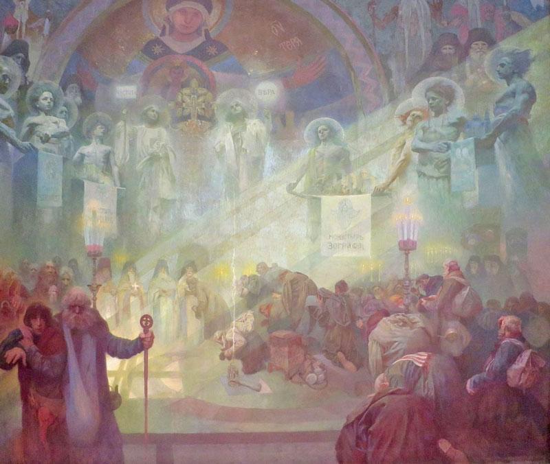 Slav Epic The Holy Mount Athos