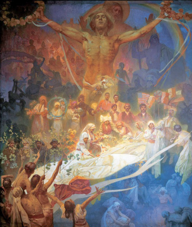Slav Epic The Apotheosis of the Slavs, Slavs for Humanity