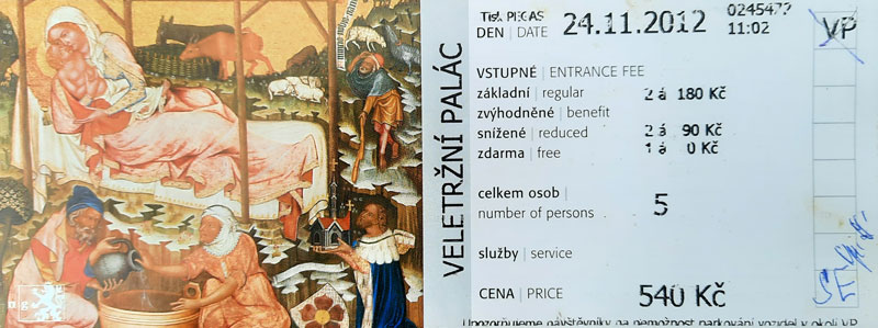 The Slav Epic Entry Ticket from 2012