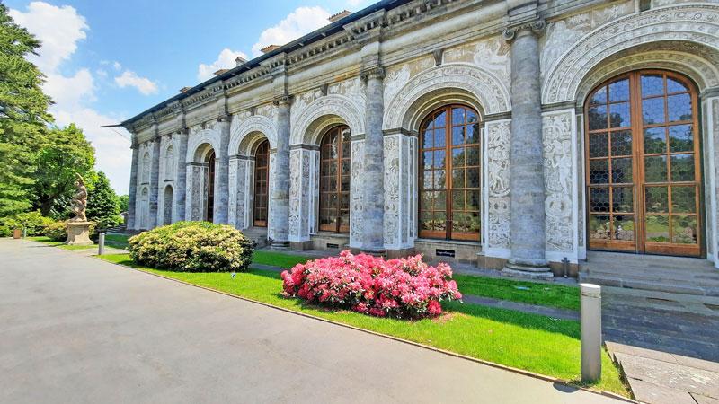 prague castle imperial gardens ball games hall