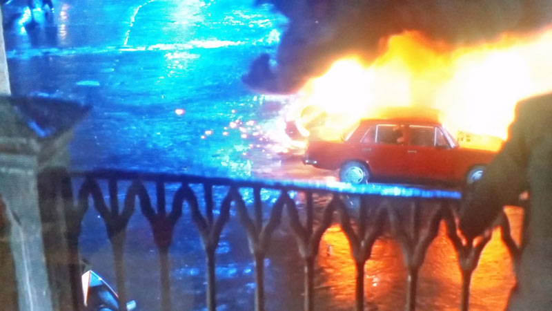 The Mission Impossible Prague filming location on kampa island where the car explodes