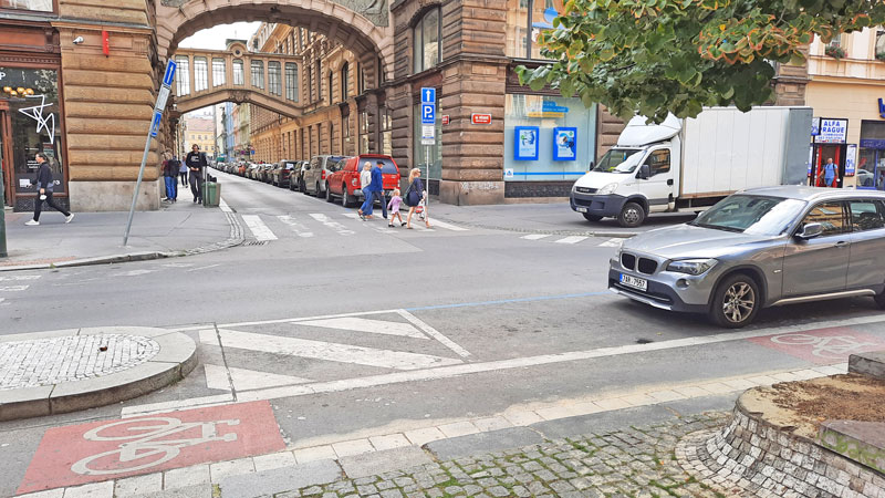 The Mission Impossible Prague filming location where ethan asks the man for a light in real life