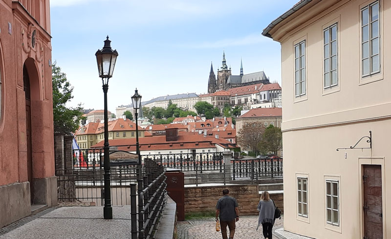 The Mission Impossible Prague intro filming location in real life