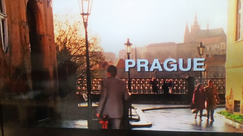 The Mission Impossible Prague Intro Filming Location Scene in 1995 before the flood protection changed the street level